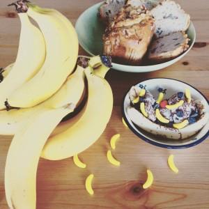 All you can eat banana buffet