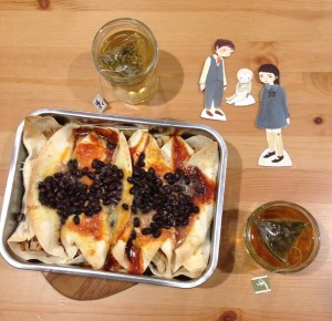 Tea and Enchiladas from the Vile Village