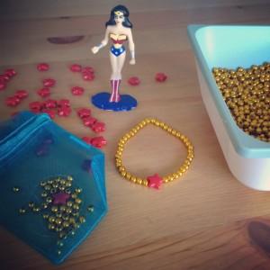 Wonder Woman Bracelet craft