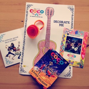 Give Aways from Coco party
