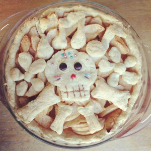 Coco Sugar Skull apple pie